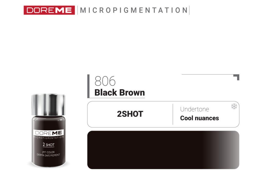 806 BLACK BROWN